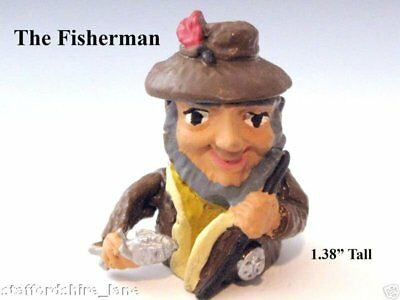 Pewter Fisherman Thimble
