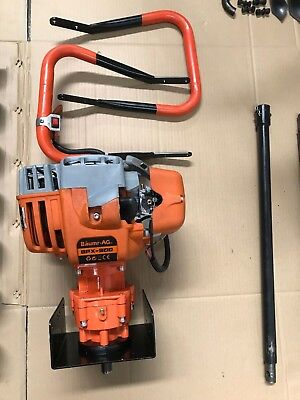 Post Hole Digger 75cc Posthole Earth Auger Fence Borer Petrol Drill Bit
