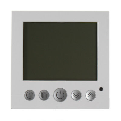 White LCD Digital Programmable Floor Heating Thermostat Temperature Controll