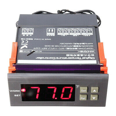WH7016K DC12V Digital Semiconductor Temperature Controller Thermoelectric Cooler