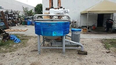Breddo Likwifier Stainless Steel 300 Gallon Model: LORWWSS 75HP with 5HP Scraper