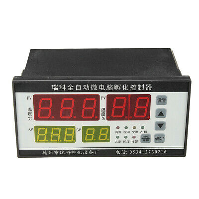 Digital Automatic Computer Incubator Controller Temperature Humidity Controller