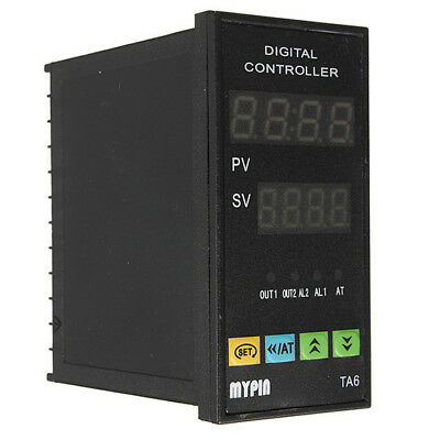 Digital PID Temperature Controller +6Ft 25A Relay +K type Thermocouple