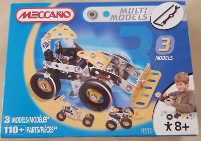 Meccano Multi Models Construction (3 Models) No. 2520