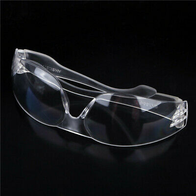 Workplace Safety Goggles Eyes Clear Protective Glasses Dust Anti-fog