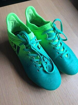 Excellent Condition ADIDAS Football Boots Size UK 1.5 - Free Delivery