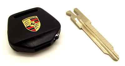 Genuine Porsche 911 964 993 Crested Key Head With Led Light & Key Blade