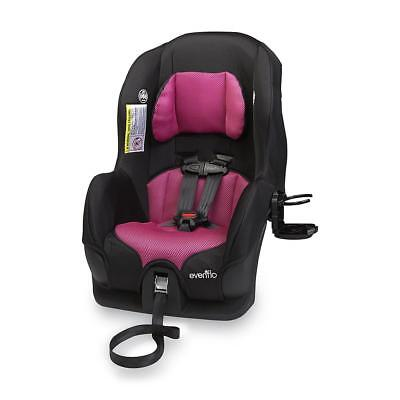 Evenflo Tribute 5 Convertible Infant Toddler Baby Car Seat Machine Wash- Abigail