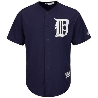 Majestic Detroit Tigers Cool Base MLB Trikot Alternate Navy