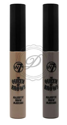 W7 Queen Of The Brows Eyebrow Mascara - Liquid Brush HD Definition Brown Blonde