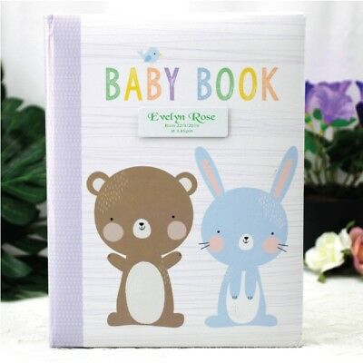 Baby 5yr Record Book - Personalised Plaque