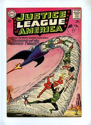 Justice League of America #17 - DC 1963 - GD/VG - Adam Strange Flashback