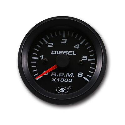 52mm 0-6000 RPM (In dash) Electrical Tachometer Gauge for Diesel