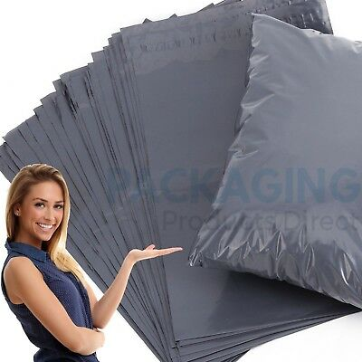 """22"""" x 30"""" XL Strong Grey Mailing Post Mail Postal Bags Poly Postage Self Seal"""