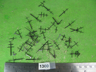 vintage waterline ships 1/1250 mixed lot plastic masts 1300
