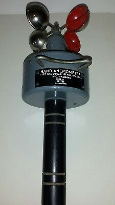 Hand anemometer Made by Smiths Basingstoke. Type KAD0303C