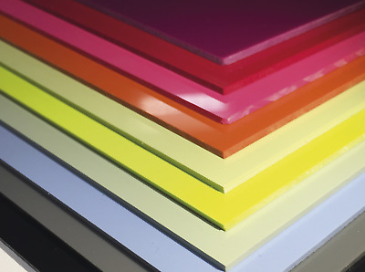 CleanClad Hygienic Wall Cladding Samples White - Pastels and Gloss Clolours