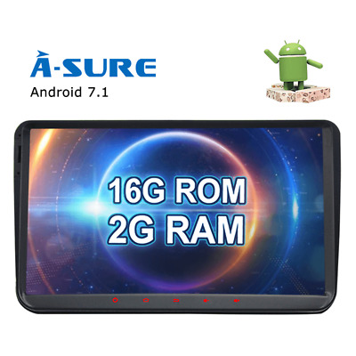 """9"""" RNS510 STYLE Android 7.1 GPS sat nav For VW Passat CC Golf Touran Eos Seat T5"""