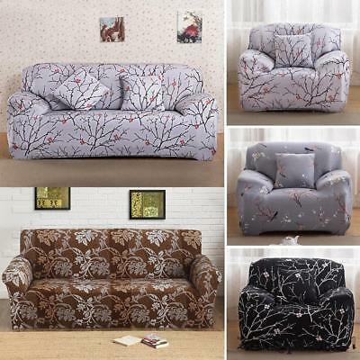 Anti-Skid Elastic 1/2/3/4 Seaters Cover Sofa Stretch Protector Couch Slipcover