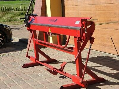 Manual Sheet Metal Folder Bending Brake Machine 2200/0.8 Incl. Cutter