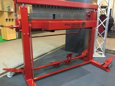 Sheet Metal Folder, Bending Brake, Box and Pan Folder SGR-1000/1.5mm, NEW!!!