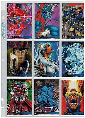 1995 Flair Marvel Annual Complete 150 Card Set 2017 Sale Wow Spider-Man