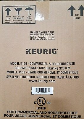 Keurig k150 pour over coffee brewer