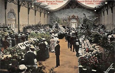 POSTCARD     EXHIBITIONS  1908    Flower  Show  in  Palace  of  Music