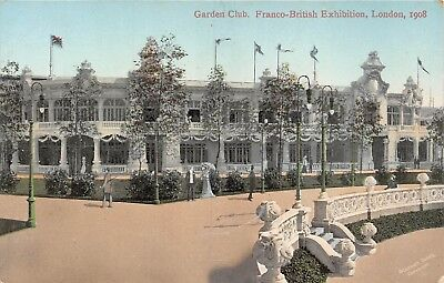 POSTCARD     EXHIBITIONS  1908    Garden  Club