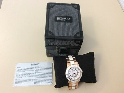 Montre officielle Renault Sport GoLD - Rallye-RACING- RARE COLLECTION