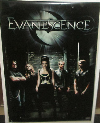 Evanescence Poster Rare New 2011 Vintage Collectable Amy Lee