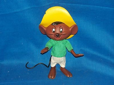 Looney Tunes Speedy Gonzales Dakin 1968 vintage jointed collectible figure 8""