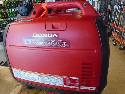 HONDA EU2000iC Companion Generator with Choice of Free Parallel Cables or Cover