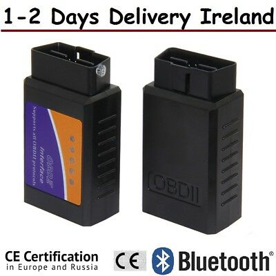 ELM 327 Car Diagnostic Tool Code Reader Bluetooth Scanner OBD II OBS Interface