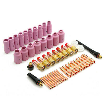 51Pcs TIG KIT&TIG Welding Torch Accessories Consumables FIT For WP 17 18 26