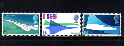Great Britain #581-583  1969  Concorde  Mint Vf Nh  O.g