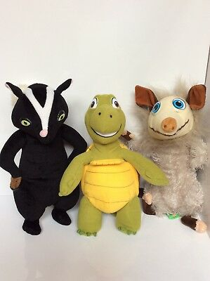 Dreamworks Over The Hedge Plushes