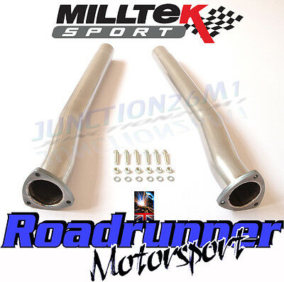 Milltek RS3 8v Decat Secondary Cat Bypass Pipes Decats & Audi TTRS MK3 SSXAU588