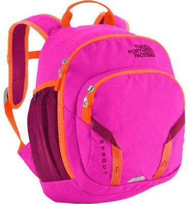 The North Face Kids Sprout Backpack Bookbag Pink Orange Size One Size New