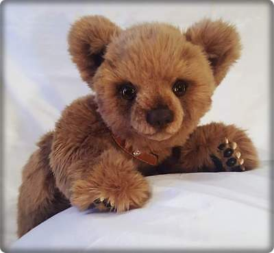 "Realistic OOAK (19"") Artist Brown Bear ""Betto"" by OsoMIMosO"