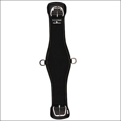 34 Inches Black Classic Equine Featherflex Roper Cinch Girth Horse