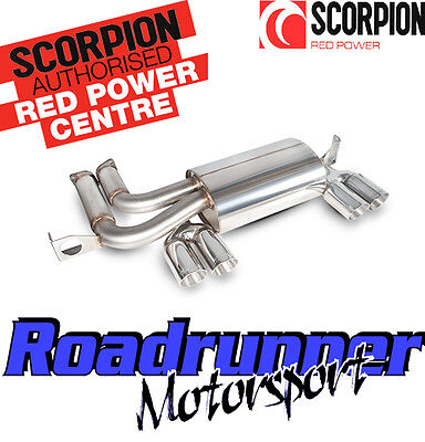 Scorpion M3 E46 Exhaust Stainless Steel Rear Silencer Back Box Coupe (01-06)