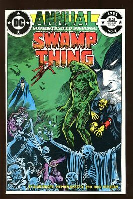 SAGA OF THE SWAMP THING #2 ANNUAL VERY FINE 1985 DC COMICS bin-2017-3076