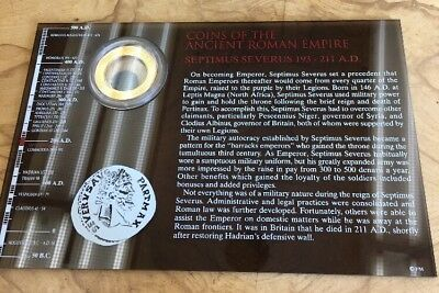Coins of the Ancient Roman Empire- Septimus Severus (Franklin Mint)