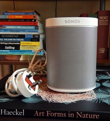 White SONOS PLAY:1 Speaker Perfect condition Wireless