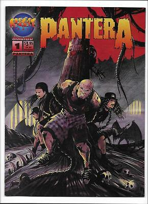 Pantera #1  [1994 Fn-]  Rock-It Comix/malibu Comics