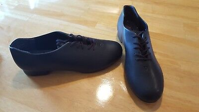 Black Capezio Tap Shoes  442 Men's Adult Size 7m - slightly used, used twice!