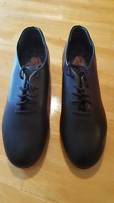 Black Capezio Tap Shoes  442 Men's Adult Size 9 M- slightly used, used twice!