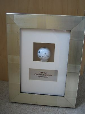 Authentic Tiger Woods signed Golf Ball with COA - Signed at British Open 2006