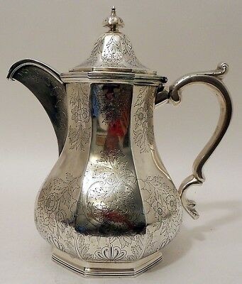 An important coin silver water pitcher, Charleston SC provenance, Gale & Hayden,